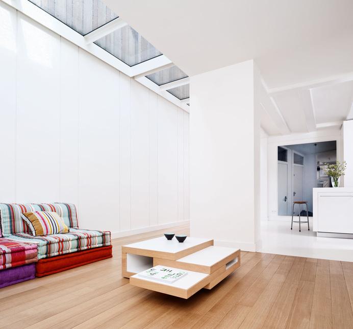 Ingeniously Versatile: REK Extending Coffee Table by Reinier de Jong Design [Video] #design #wood #furniture #coffee #table