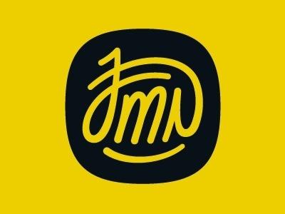 Dribbble - My Signature by Joaquim Marques Nielsen #monogram #type #logo