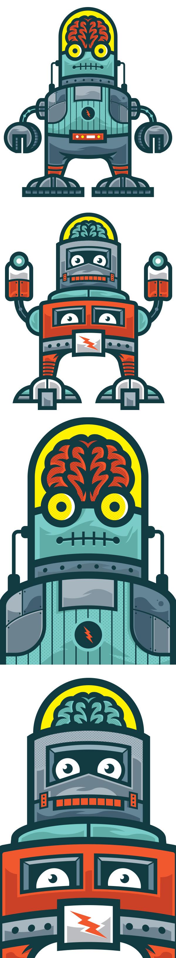 BrainBot Kids Danger Brain #robots