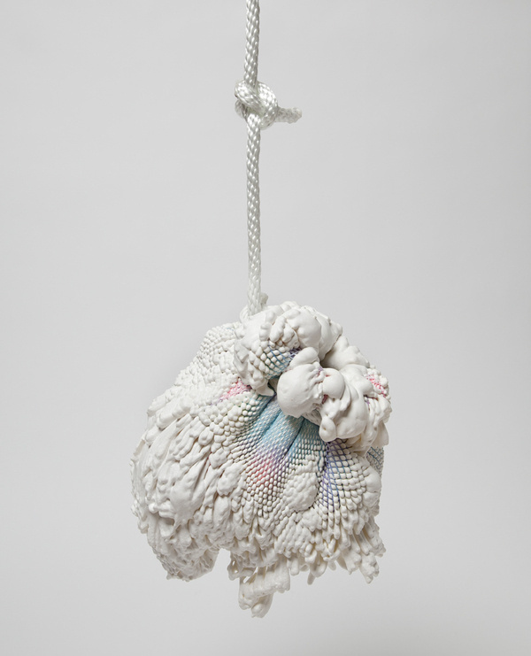 Chen and Kai (Swell Vase (hanging), 2011 polyurethane foam,...) #object #art