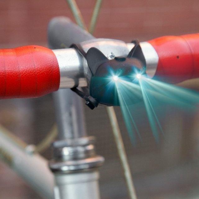Cat Bike Light #tech #flow #gadget #gift #ideas #cool
