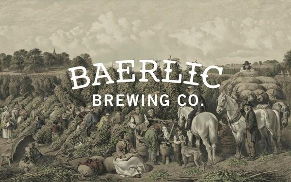 Baerlic Brewing Company #beer #brewing #typography