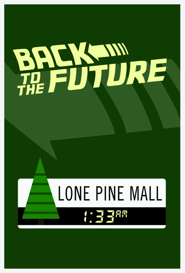 Back To The Future #movie #the #back #poster #minimalist #future #to