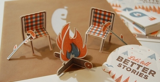 Graphic-ExchanGE - a selection of graphic projects #craft #camping