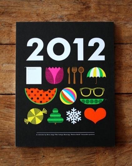 design work life » cataloging inspiration daily #illustration #calendar #icons