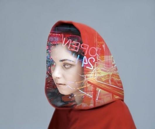 Futur Couture by Matt Wisniewski I Art Sponge #girl #matt #wisniewski #photography #portrait #couture #futur #collage