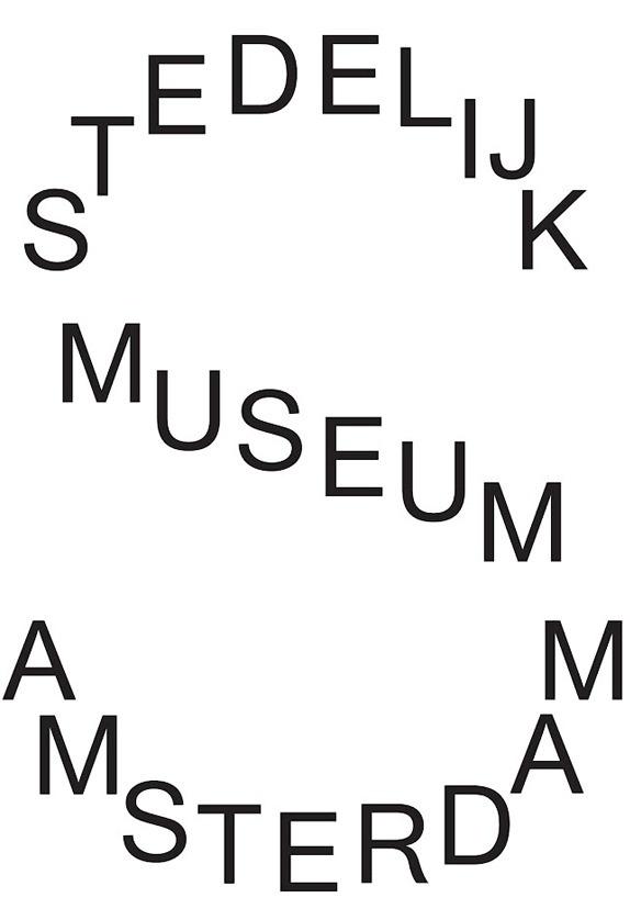 Stedelijk Museum Amsterdam #amsterdam #logo #2012 #museum