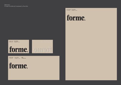 Forme #logo #print #layout