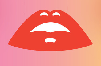 #lips #illustrator #illustration #color #colour