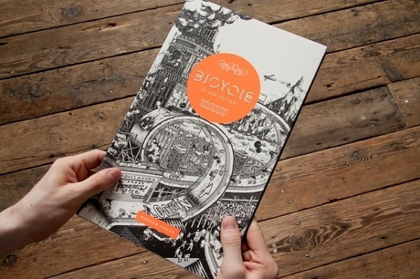 Bicycle Book – Fubiz™ #illustration