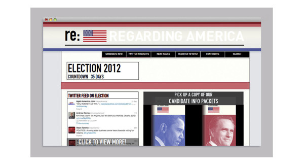 Re: America #campaign #election #branding