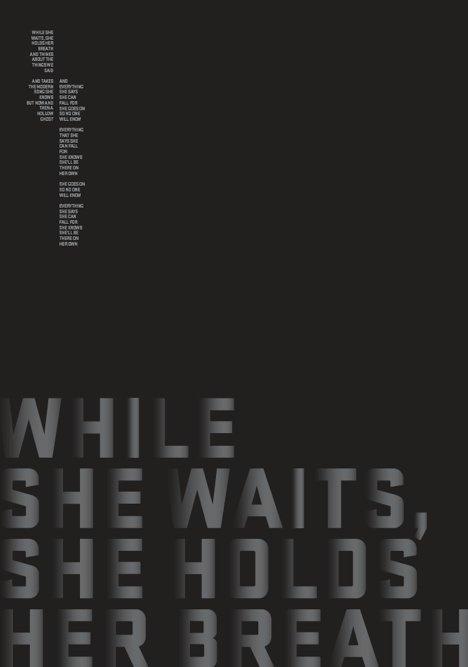 Inspired by Music #sarita #lyrics #design #graphic #inspired #space #minimal #poster #art #music #blackandwhite #walsh