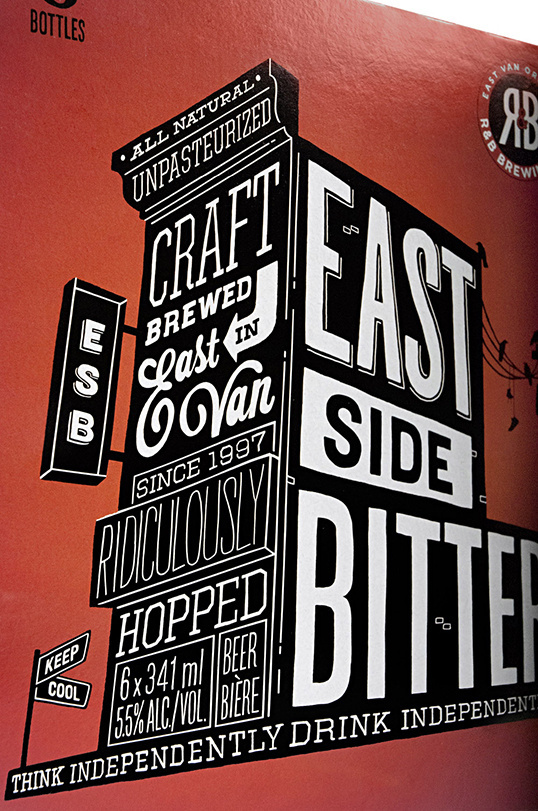East Side Bitter | Lovely Package #typography