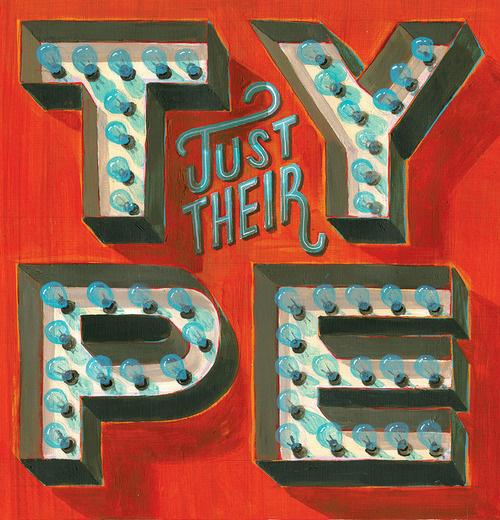 typeverything.com, Jeff Rogers #type #hand #painting