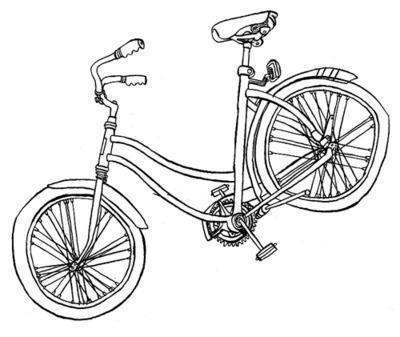 Post it. #lines #bike