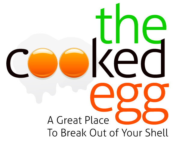 Cooked_Egg_by_David_Brier #lettering #food #gourmet #hand #typography
