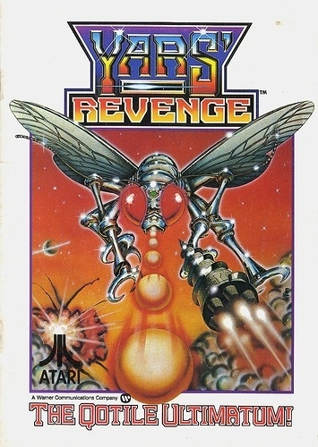 Atari - Yars Revenge | Flickr - Photo Sharing! #games #video #illustration #manual #booklet