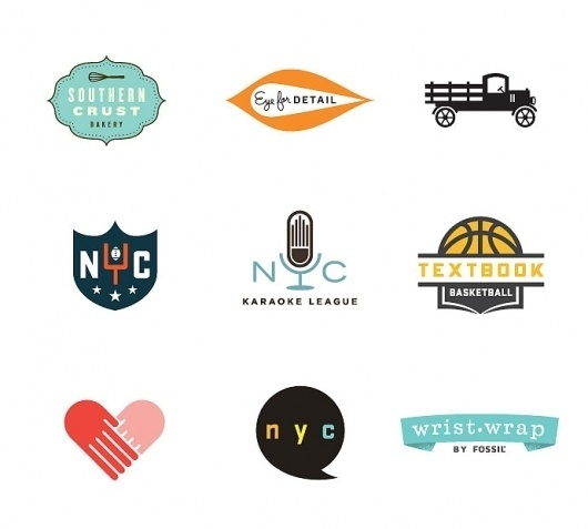 Lost Type Co-op | Blog #logos #marks #colors #dustin #wallace