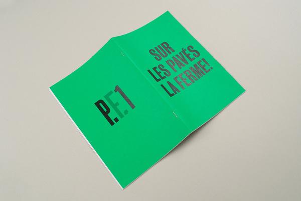 Sur Les Pavés La Ferme! —Projects #design #pub #projectsprojects