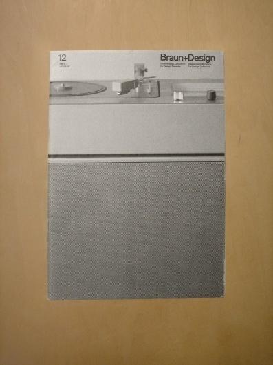Braun+Design 12 (via Alphanumeric.) #products #design #graphic #des #braun #magazine