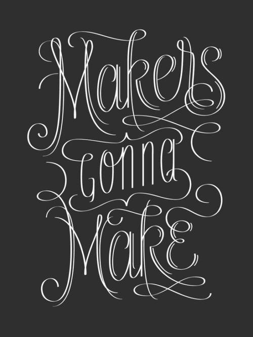Typeverything.comMakers Gonna Make, 2.0 by Jude Landry. #typography