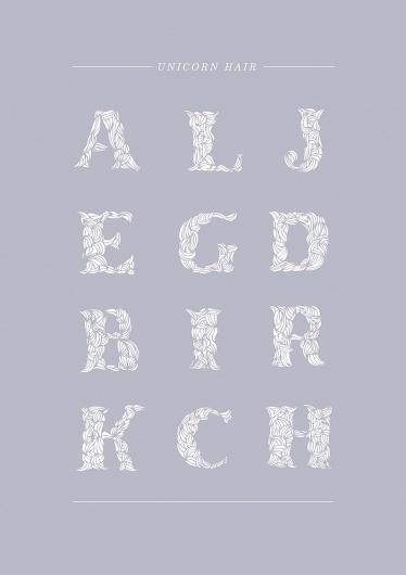 Gohar Avagyan – graphic designer #hair #illustrative #unicorn #typography