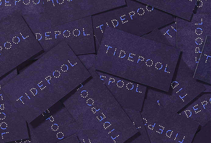 Tidepool by Moniker #brand design #stationery