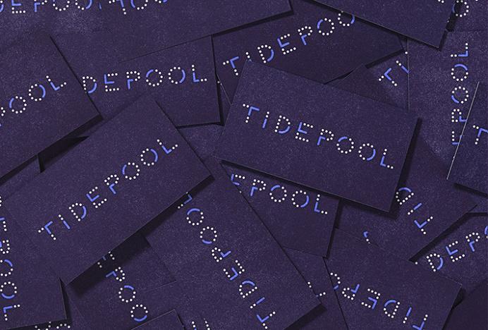 Tidepool by Moniker #brand design #stationery