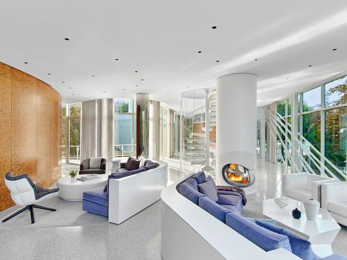 living room / Dirk Denison Architects