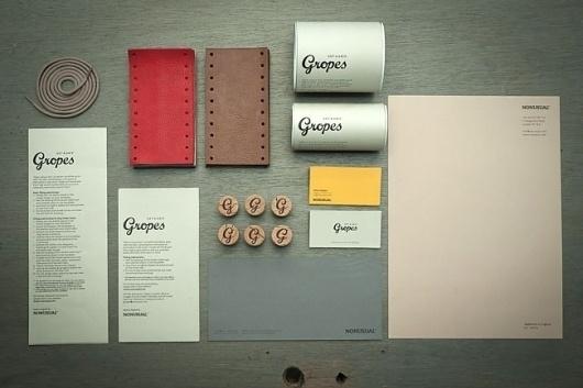 Designspiration — Gropes | Identity Designed