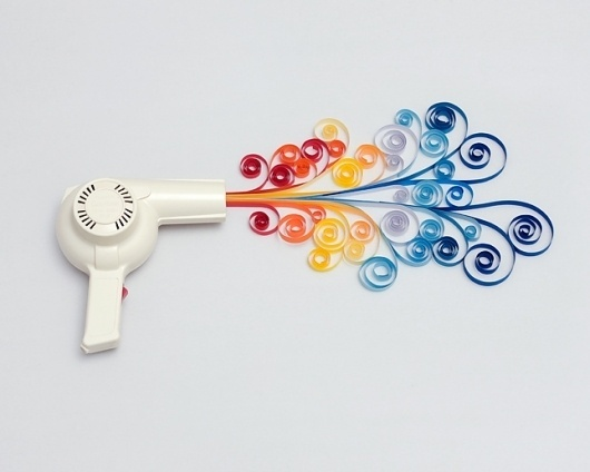 Carl Kleiner #hair #dryer #art #wave