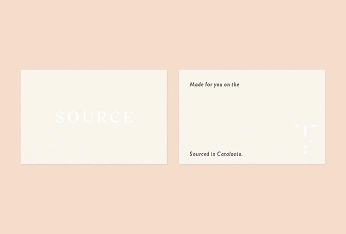 Source Skincare by Studio Crême #business #card #print