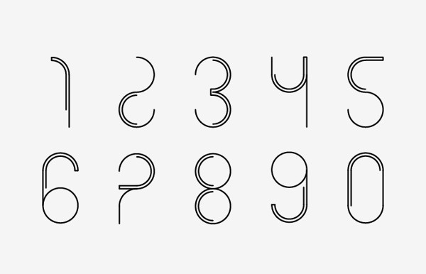 Circle font on Behance #font #round #123 #circle #typography