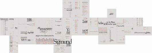 Sistema tipografico (diccionario) by Diego Pinzon at Coroflot #diego #pinzon #dictionary #layout #typo #typography