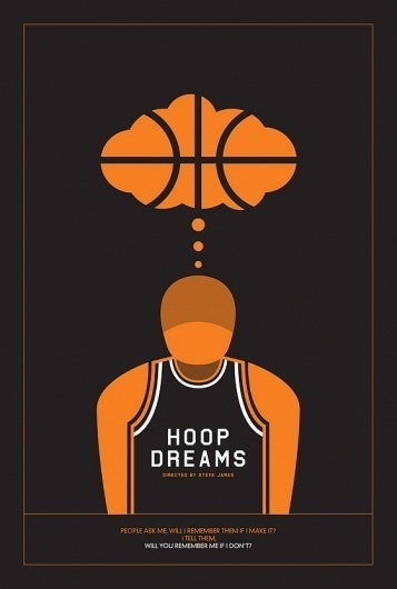 » Might&Wonder #documentary #design #illustration #hoop #poster #film #nba #dreams #basketball