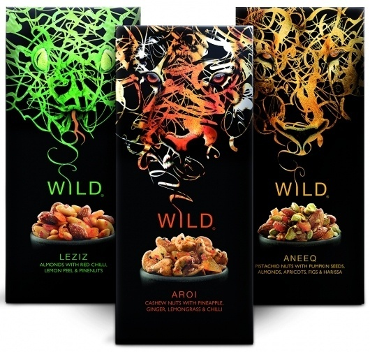 Stream Foods 'Go Wild' with Design by Springetts – POPSOP.COM. Brand news. Brand design. Package design. Branding agencies. Brand experts #packaging #springetts #wild