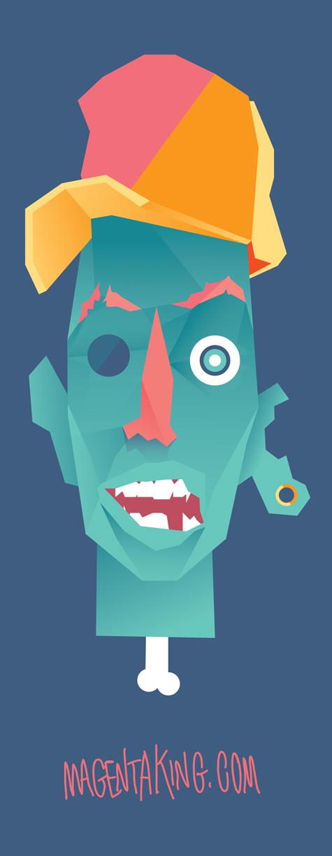 All sizes   zombify   Flickr Photo Sharing! #photo #illustration #magentaking #character