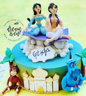 Aladin Birthday Party Cakes