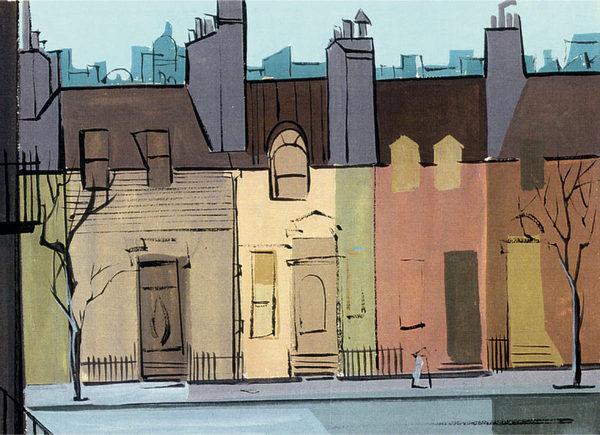 101 Dalmatians color key by Walt Peregoy #peregoy #muted #walt #palette #illustration #colour