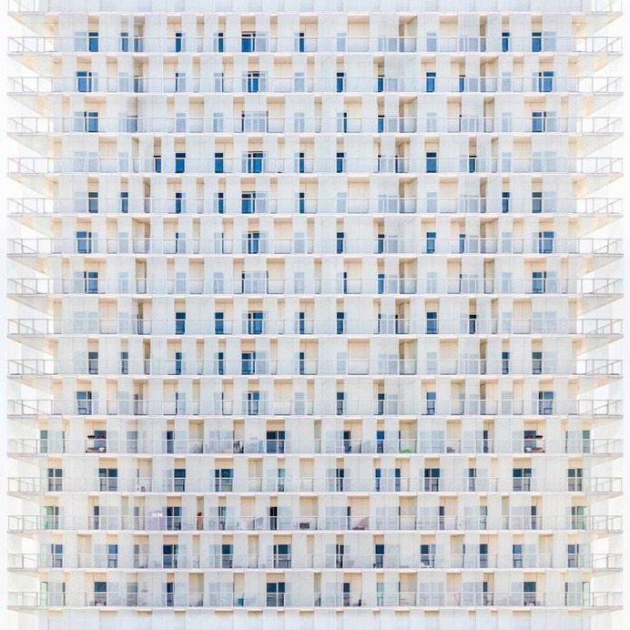 Paul Brouns Transforms Architectural Facades Into Abstract Patterns