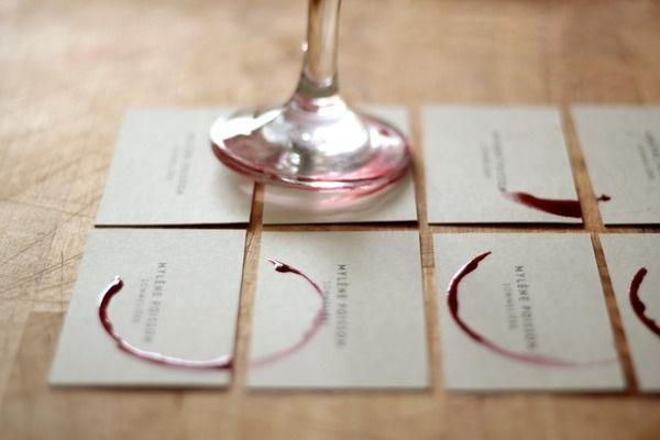 MYLÈNE POISSON SOMMELIÈRE on Behance #business #branding #card #print #identity