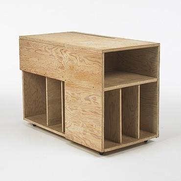 (Albert Frey plywood cabinet 1942 (via ffffound!)) #furniture #albert #frey