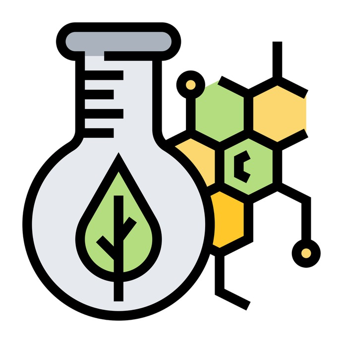 See more icon inspiration related to plant, pigment, flask, chlorophyll, healthcare and medical, extraction, flasks, testing, laboratory, chemical, education, test tube, chemistry and science on Flaticon.