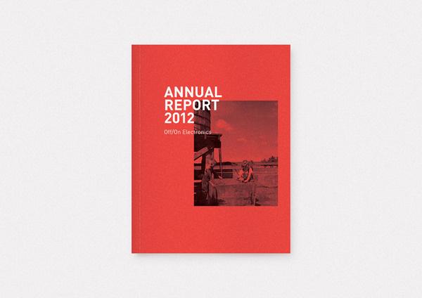 Off/On Ryan Stannage | Graphic Design #layout #book #ryanstannage
