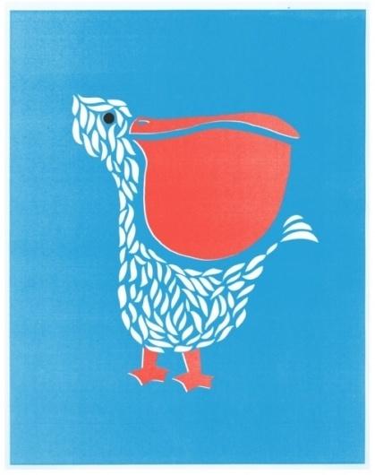 iamjamesbooth #screen #illustration #print #pelican