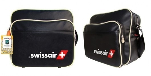 WANKEN - The Blog of Shelby White #swiss #air #airlines #retro #hangbag