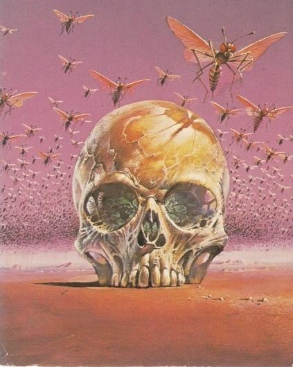 WASPS on DesignersGoToHeaven.com Via Nequest - Designers Go To Heaven #skull #wasps #vintage