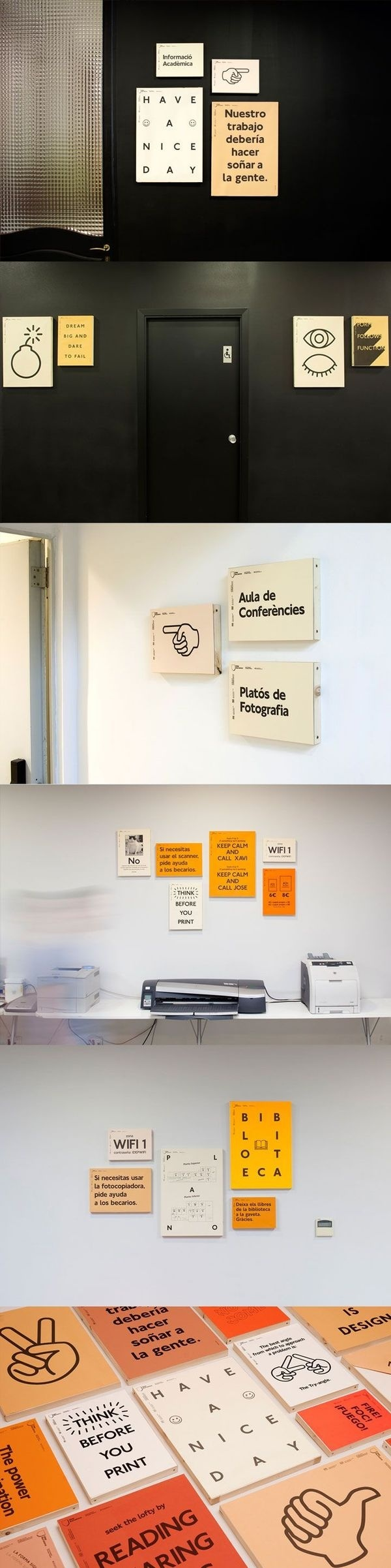IDEP Barcelona by Querida #typography #image #signage