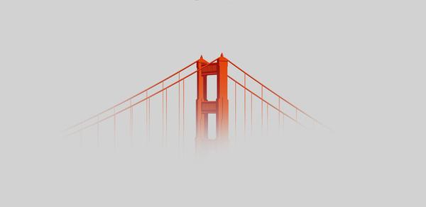 An homage to the Golden Gate Bridge