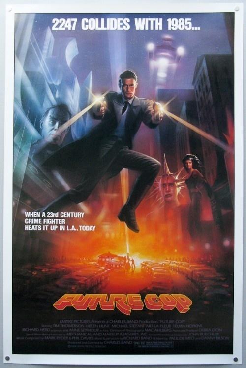 Future Cop #movie #poster